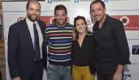 Franco Cinquegrana, Antonio Pacheco, Virginia Molfese, Alvaro Recoba.