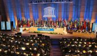 Conferencia general de la Unesco en 2015. Foto: AFP.