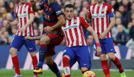 Partidazo. Atlético de Madrid recibe al Barcelona. Foto: Reuters
