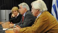 Los ministros del área económica analizaron ayer el conflicto desatado con Brasil. Foto: Presidencia