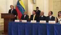 Instalación del Tribunal Supremo opositor de Venezuela en OEA. Foto: El Nacional | GDA