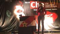 """Los tupamaros recordaron ayer al """"Che"""" Guevara. Foto: @MPP"""
