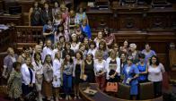Mujeres: la ley de cuotas se aplicó por primera vez en el 2009. Foto: EFE