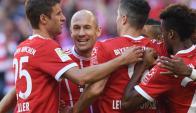 Bayern Munich se rencontró con la goleada. Foto: AFP