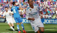 Cristiano Ronaldo le dio la victoria al Real Madrid. Foto: Reuters