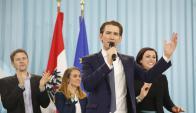 El joven líder del Partido Popular de Austria logró dar el batacazo en las elecciones legislativas. Foto: EFE
