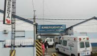 Hospital de Mercedes. Foto: archivo El País