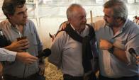 Larrañaga: el líder de Alianza Nacional pidió más apoyo para el sector lechero. Foto: @alianzauy