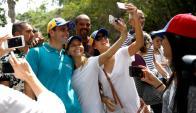 Henrique Capriles denunció maniobras oficialistas sospechosas. Foto: Reuters