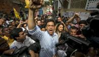 El candidato opositor a la gobernación del estado venezolano de Miranda, Carlos Ocariz. Foto: EFE