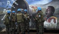 Haití: la misión finalizó, los efectivos se volvieron para el país y ahora Defensa busca otra actividad. Foto. AFP