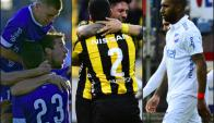 Collage Defensor, Peñarol y Nacional