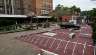 La zona tarifada y el tránsito rotativo colaboran para hacer más atractivo el negocio. Foto: F. Ponzetto