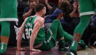 La fractura de Gordon Hayward, jugador de Boston Celtics