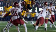 El touchdown que maravilló a los amantes del fútbol americano