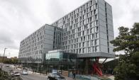 """El edificio """"Old Oak"""" es un pionero del alojamiento compartido a una escala tan grande. Foto: AFP"""