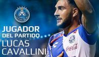 Lucas Cavallini fue la figura de Puebla al convertir dos goles