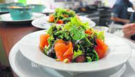 Ensaladas. Uno de los puntos fuertes del restaurante. Foto: Gentileza El Encuentro