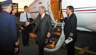 Avión presidencial: hubo muchas idas y vueltas con la compra del aparato. Foto: Presidenica