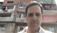 Federico Paz en Caracas.