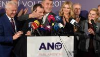 El partido xenófobo ANO triunfó en las elecciones de República Checa. Foto: AFP.