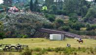 """Cuestionan que se podrían ver afectados los productores que se encuentran """"río abajo"""" de ellas. Foto: Ricardo Figueredo"""
