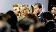 Mauricio Macri en la conferencia mundial de enfermedades crónicas no transmisibles que se realiza en Montevideo Foto: Darwin Borrelli