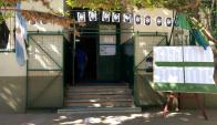 Escuela San Martín, donde hubiera votado ayer Maldonado. Foto: Reuters