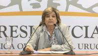 Eneida de León. Foto: captura Presidencia