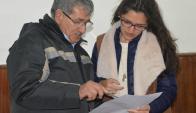 Pionera. María Laura López es la primera presidenta. Foto: Victor Darwin