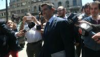"""El exvicepresidente dijo que hablaría """"después"""" de declarar. Foto: Ariel Colmegna."""