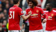 Manchester United. Foto: AFP.