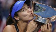 Martina Hingis. Foto: AFP.