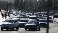 La mitad de la flota vehicular nacional mantiene deudas por sus tributos municipales. Foto: M. Bonjour
