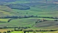 La belleza natural de Toscana son un atractivo para visitantes del exterior. Foto: Pixabay