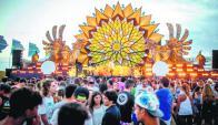 Corona Sunset: llevó 3.500 invitados y colocó la marca Punta del Este en todo el mundo. Foto: Difusión