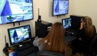El Centro de Monitoreo Ambiental registra a los infractores. Foto: IMM
