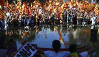 """Secesionistas califican de """"golpe de Estado"""" las medidas y anuncian que resistirán. Foto: EFE"""