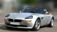 El BMW Z8 tiene solo 24 mil kilómetros recorridos. Wikimedia Commons