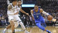 Oklahoma City Thunder venció a Milwaukee Bucks