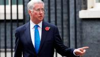 Michael Fallon, ex ministro de Defensa del Reino Unido.Foto: AFP