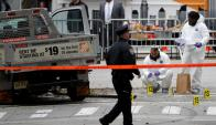 """El atentado fue a pocas cuadras de la """"zona cero"""", a pocas cuadras de las Torres Gemelas. Foto: Reuters"""