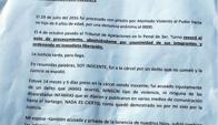 Carta abierta de Humberto Cabrera. Foto: Semanario La Prensa