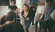 Erika Lust es una de las directoras preferidas por las mujeres. Aquí en pleno rodaje.