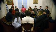 De la elección de jóvenes colorados surgirán dos para integrantes al comité ejecutivo nacional. Foto: F. Ponzetto