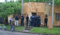 El asesinato del hombre ocurrió en una vivienda del barrio Túnel. Foto: D. Rojas