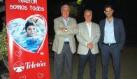 Jorge Jourdan, Daniel González, Germán Lombardi.