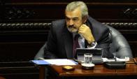 Jorge Larrañaga en el Parlamento. Foto: D. Borrelli