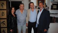 Laura Alonso Pérez, Carlos Páez, Yamandú Orsi, Gustavo Zerbino.