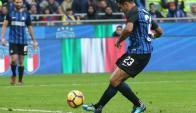 El gol de Eder que rescató al Inter. Foto: EFE